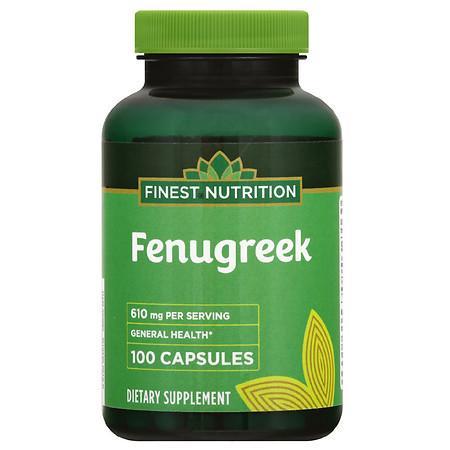 Finest Nutrition Fenugreek 610 mg Capsules - 100.0 ea