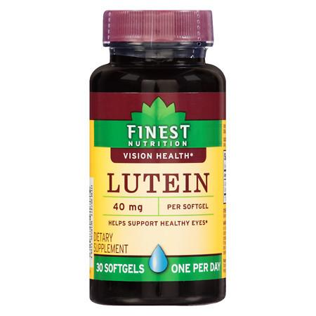 Finest Nutrition Lutein 40 mg Softgels - 30.0 ea