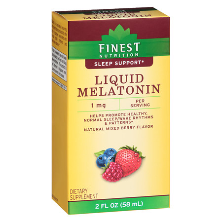 Finest Nutrition Melatonin 1 mg Dropper - 2.0 oz