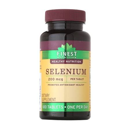 Finest Nutrition Selenium 200 MCG Tablets - 100.0 ea