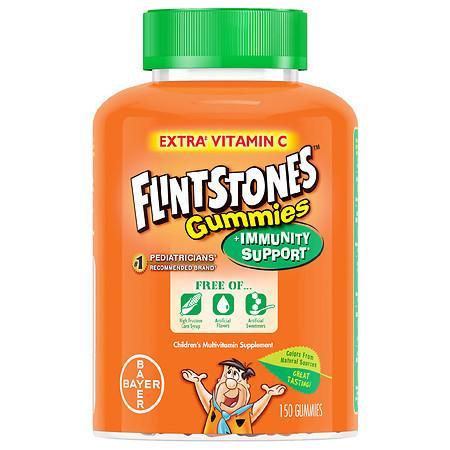 Flintstones Children's Gummies + Immunity Support with Extra Vitamin C - 150.0 ea