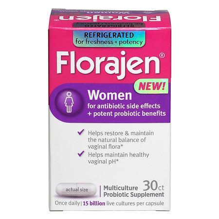 Florajen Women Multiculture Probiotic Supplement Capsules - 30.0 ea