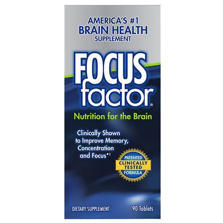 Focus Factor Dietary Supplement Tablets - 90.0 ea