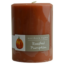 FragranceNet 287258 Roasted Pumpkin 3 x 4 in. One Pillar Candle