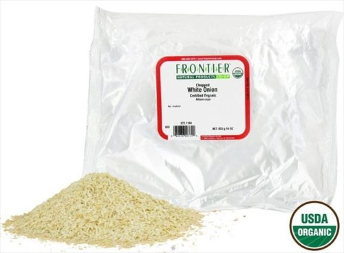 Frontier Natural - Onion Flakes - White 1 lbs