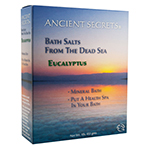 Frontier Natural Products 227358 Aromatherapy Dead Sea Mineral Baths - Eucalyptus