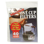 Frontier Natural Products 6038 One Cup Disposable Filter