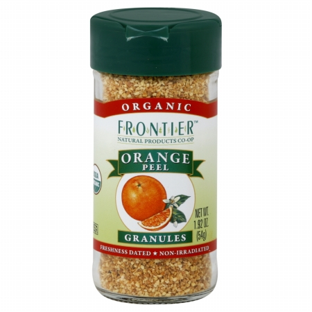 Frontier Natural Products Organic Orange Peel Granules - 1.92 Oz