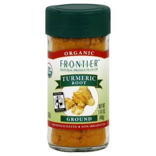 Frontier Natural Products Tumeric Root Og Ground Ft 1.41-Ounce