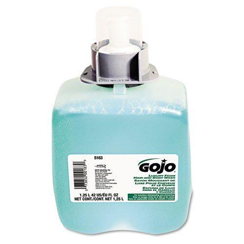 GOJ 5163-03 Luxury Foam Hair and Body Wash