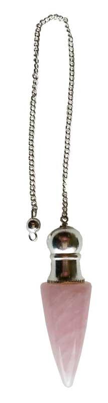 GPCRQ Quartz Chambered Pendulum - Rose