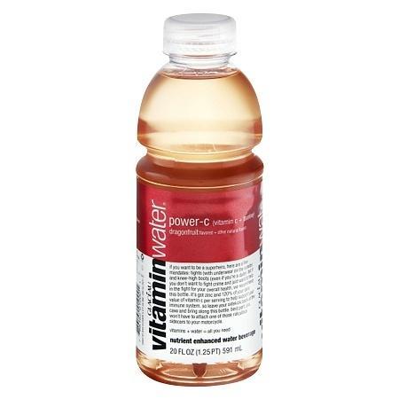 Glaceau Vitaminwater Nutrient Enhanced Beverage Bottle Dragonfruit - 20.0 oz.
