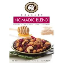 Gourmet Nomadic Blend Nut Mix 4 Ounce (Pack of 6)