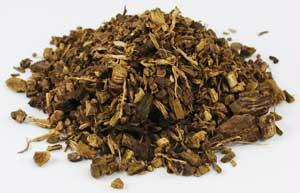 H16YELC 1oz Dock Root Cut Yellow - Rumex Crispus
