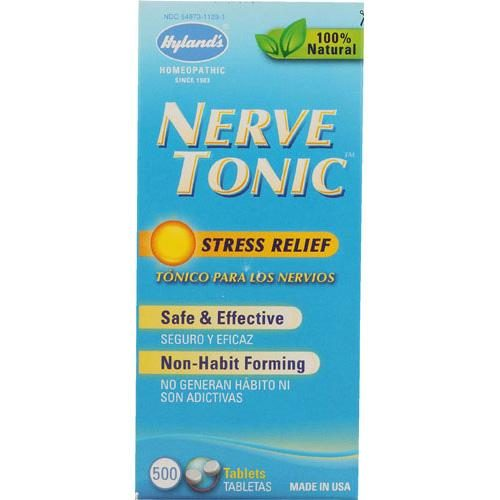 HG0131680 Homeopathic Nerve Tonic Tablets, 500 Tablets