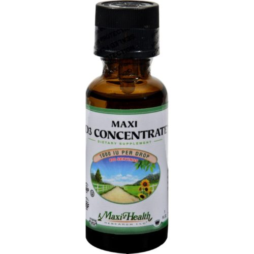HG0135236 1 fl oz Maxi Health Maxi D3 Concentrate - 1000 IU