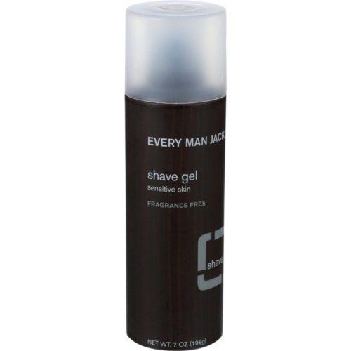 HG0136853 7 oz Sensitive Skin Fragrance Free Shave Gel