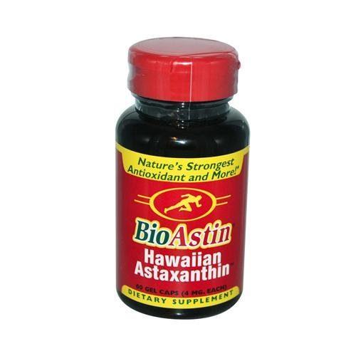 HG0138933 4 mg Bioastin Natural Astaxanthin - 60 Gelatin Capsules