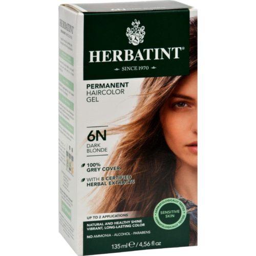 HG0226670 135 ml Permanent Herbal Haircolor Gel, 6N Dark Blonde