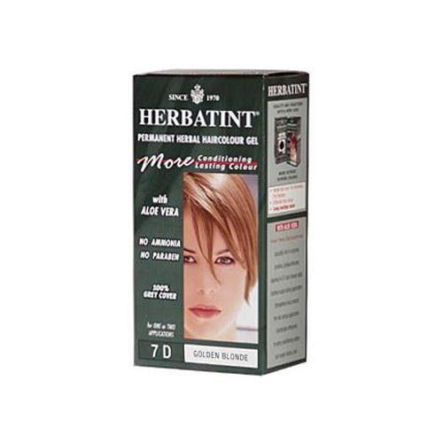 HG0226811 135 ml Permanent Herbal Haircolor Gel, 7D Golden Blonde
