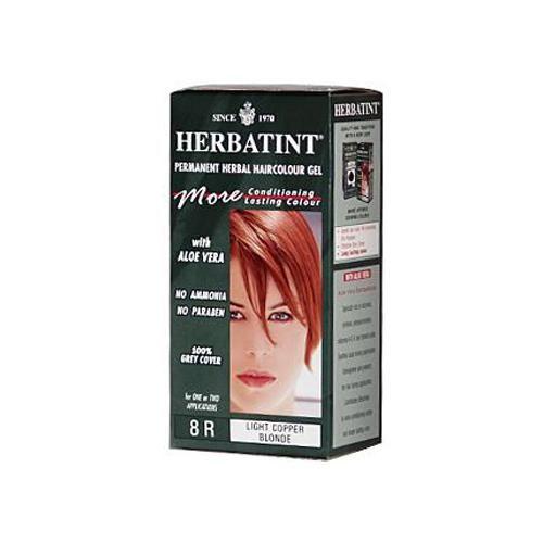 HG0226936 135 ml Permanent Herbal Haircolor Gel, 8R Light Copper Blonde