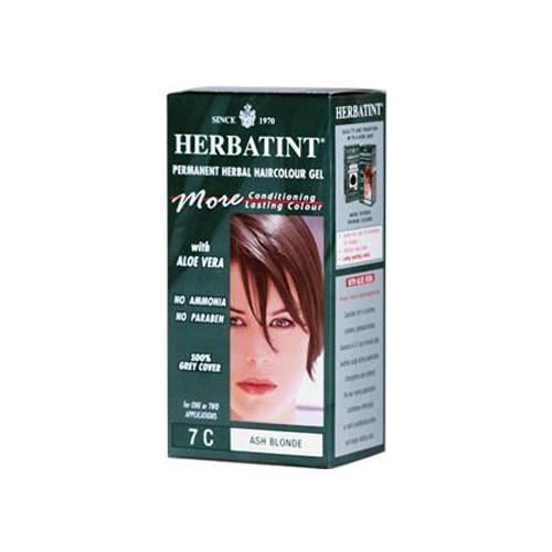 HG0226977 135 ml Permanent Herbal Haircolor Gel, 7C Ash Blonde