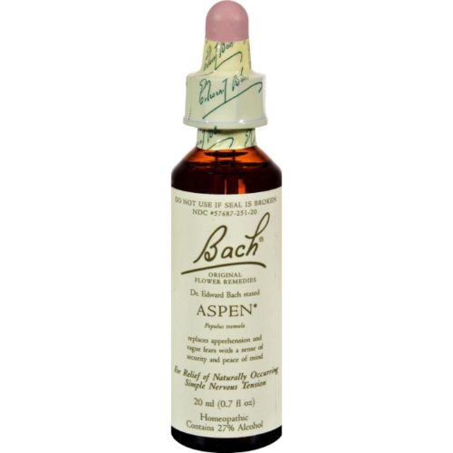 HG0233411 0.7 fl oz Flower Remedies Essence, Aspen