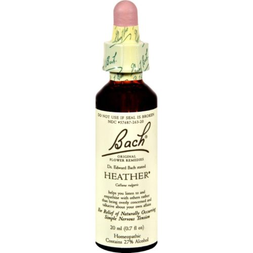 HG0233619 0.7 fl oz Flower Remedies Rescue Remedy, Spray Heather