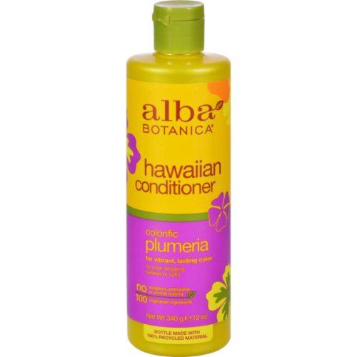 HG0258517 12 fl oz Hawaiian Hair Conditioner, Plumeria