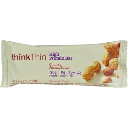 HG0269878 2.1 oz Thin Bar, Chunky Peanut Butter - Case of 10