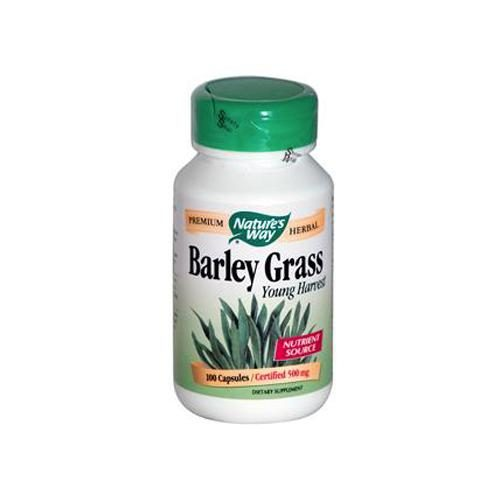 HG0296509 Barley Grass Young Harvest, 100 Capsules