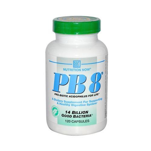 HG0330472 PB 8 Pro-Biotic Acidophilus for Life - 120 Vegetarian Capsules