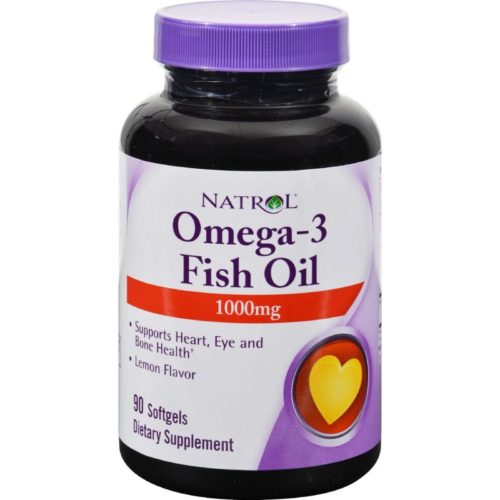 HG0343921 1000 mg Omega-3 Fish Oil Lemon, 90 Softgels