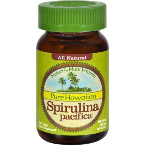 HG0357566 500 mg Pure Hawaiian Spirulina Pacifica - 100 Tablets