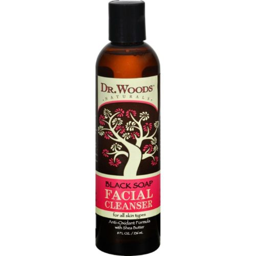 HG0360768 8 fl oz Facial Cleanser Black Soap & Shea Butter
