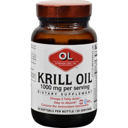 HG0382713 1000 mg Krill Oil - 60 Softgels