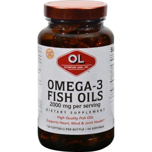 HG0382978 2000 mg Omega-3 Fish Oils - 120 Softgels