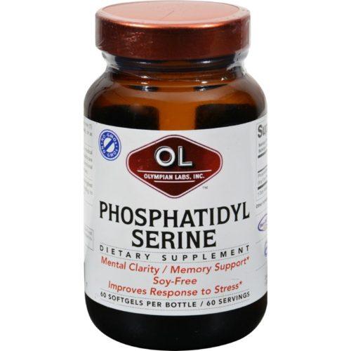 HG0383356 100 mg Phosphatidyl-Serine - 60 Softgels