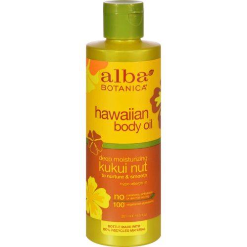 HG0389999 8.5 fl oz Hawaiian Body Oil, Kukui Nut