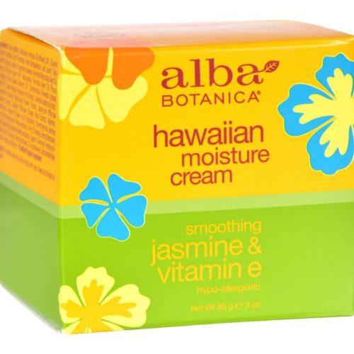 HG0390153 3 oz Hawaiian Moisture Cream Jasmine & Vitamin E