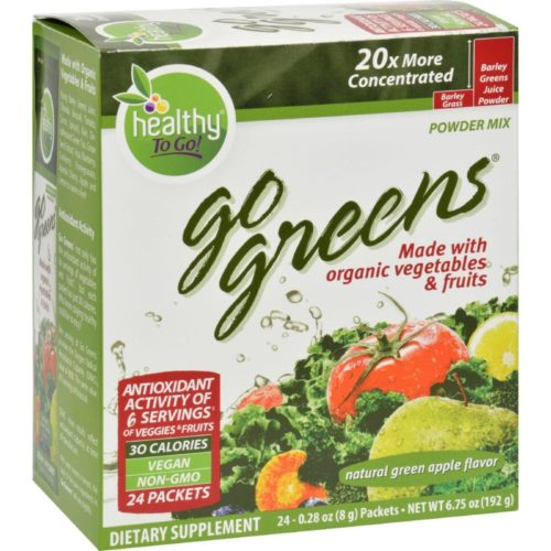 HG0403204 Go Greens Fruit - 24 Packet