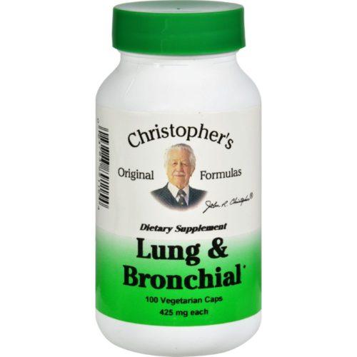 HG0413393 450 mg Lung & Bronchial, 100 Vegetarian Capsules