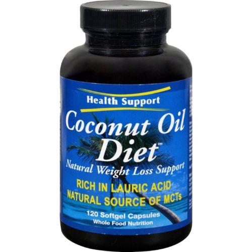 HG0418178 Coconut Oil Diet - 120 Softgels