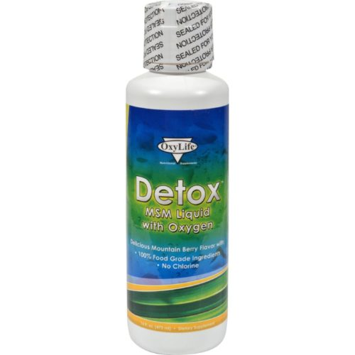 HG0429258 16 fl oz Oxylife Detox Msm Liquid with Oxygen