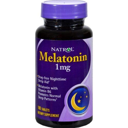 HG0432120 1 mg Melatonin - 180 Tablets