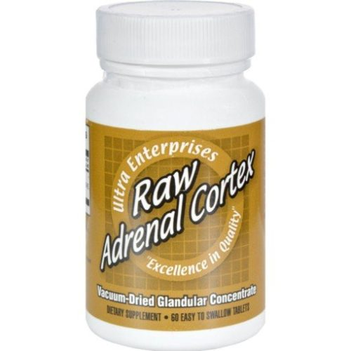 HG0438994 Raw Adrenal Cortex - 60 Tablets