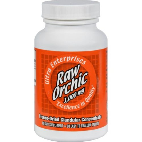 HG0439216 1000 mg Raw Orchic - 60 Tablets