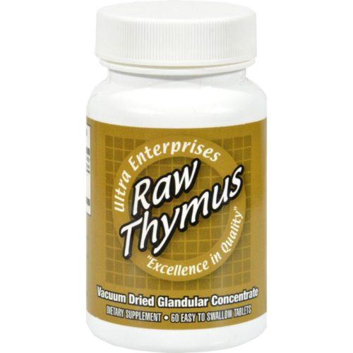 HG0439331 200 mg Ultra Raw Thymus - 60 Tablets