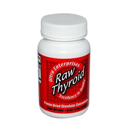 HG0439356 Raw Thyroid - 90 Tablets