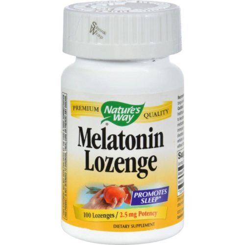 HG0454926 2.5 mg Melatonin Lozenge - Fruit, 100 Lozenges